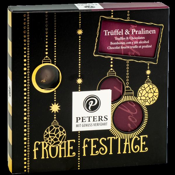 Frohe Festtage | Trüffel & Pralinen - 200g