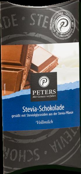 PETERS Stevia Schokolade - Vollmilch