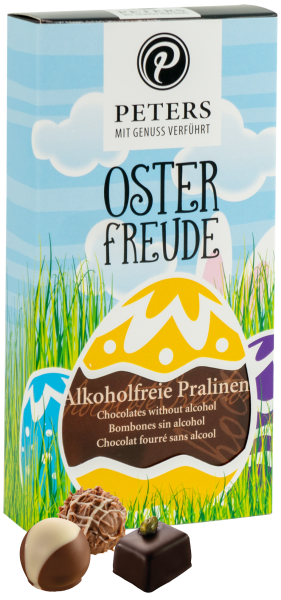 Osterfreude | Alkoholfreie Pralinen 100g