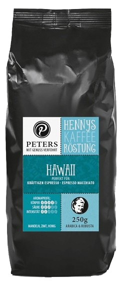 Henny's Röstung | Kaffee - Hawaii 250g