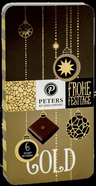 Frohe Festtage | 6er Pecarée ® Goldgenuss - 63g