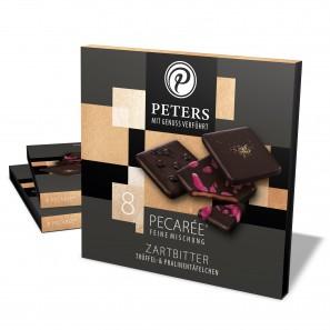 Pecarée ®-Mischung - Zartbitter l PETERS Pralinen