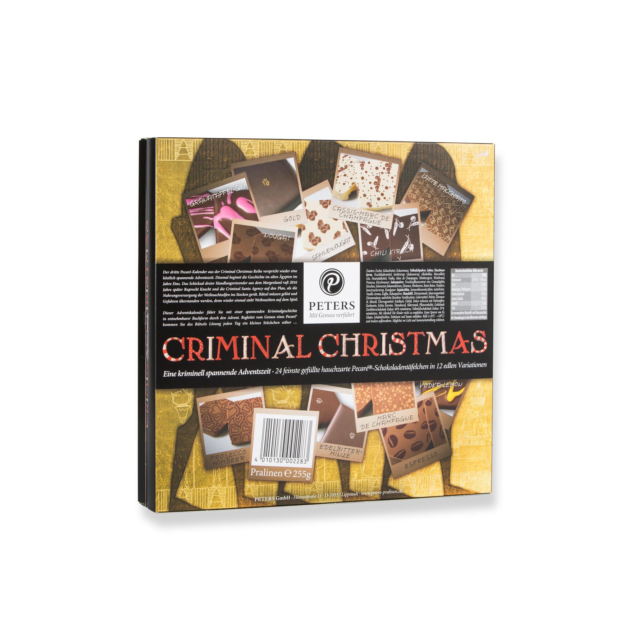 Alte Weihnachtskalender.Criminal Christmas The Stollen Scandal Advent Calendar With Book
