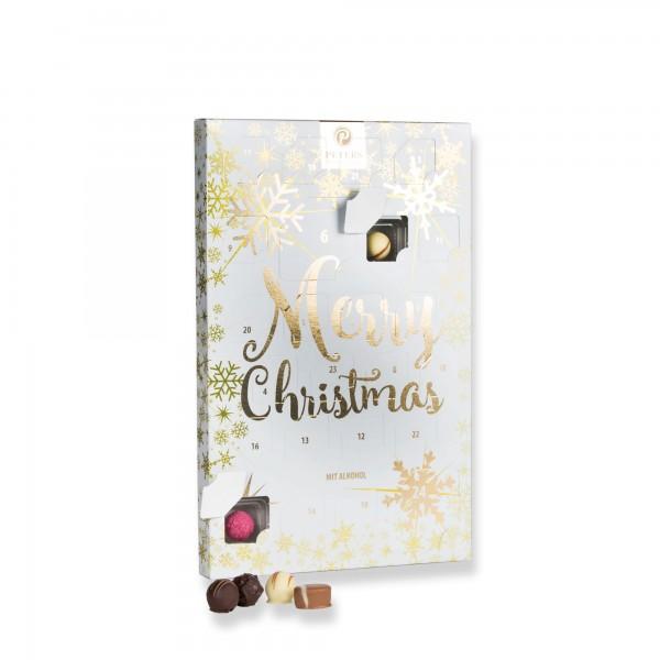 "Pralinen-Adventskalender ""Merry Christmas"" | PETERS Pralinen"