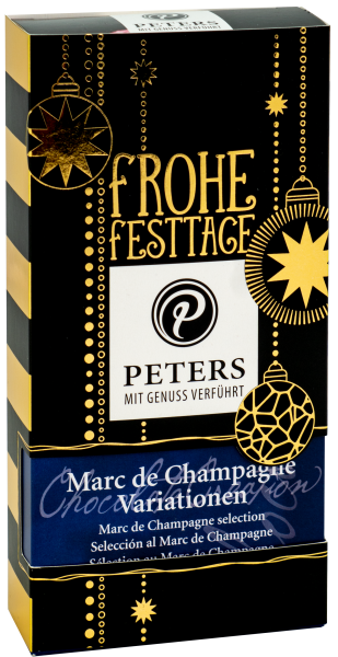 Frohe Festtage   Marc de Champagne-Variationen - 100g