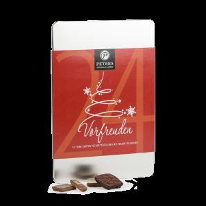 Pecaré Schokoladentafeln in Metalldose