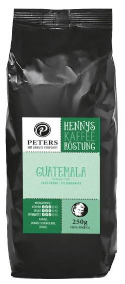 Henny's Röstung   Kaffee - Guatemala 250g