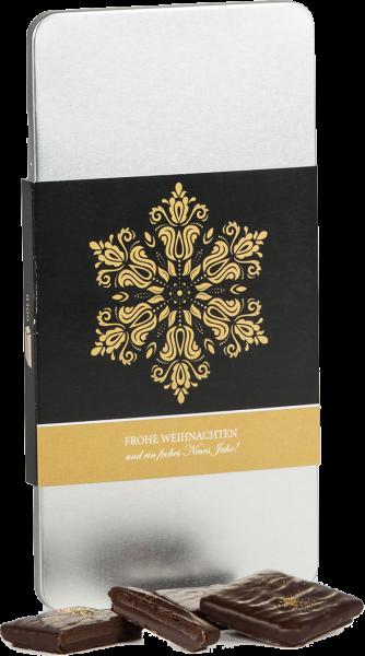 Pecarée ® Gold mit weihnachtlicher Banderole