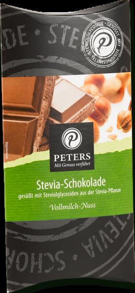 PETERS Stevia Schokolade - Vollmilch Nuss