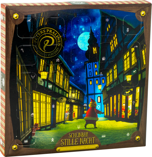 AUGMENTED REALITY | Scheinbar Stille Nacht Mini-Adventskalender mit Alkohol