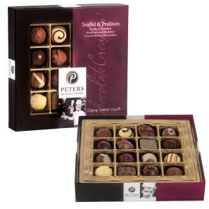 """Schokoladen Geschenke """"Trüffel und Pralinen"""""""