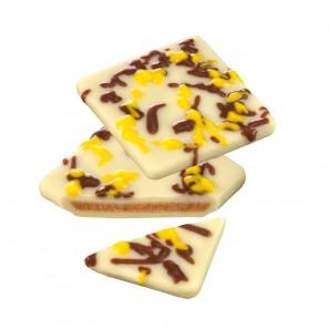 Pecarée ® Mandel-Nougat Zitrone weiß für die Pralinentheke l PETERS Pralinen