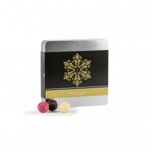 Pralinen-Mischung 175g mit weihnachtlicher Banderole | PETERS Pralinen