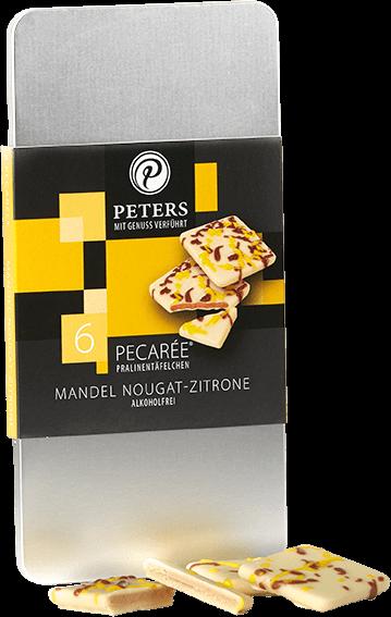 6er Pecarée ® Mandel Nougat-Zitrone 63g