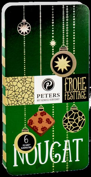 Frohe Festtage | 6er Pecarée ® Nuss-Nougat - 63g