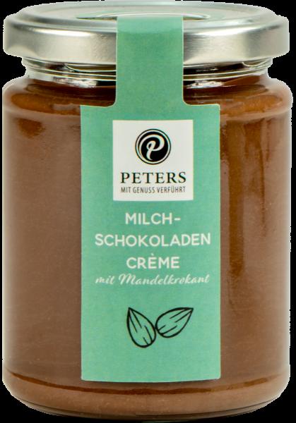 Streichcreme - Milch-Chocolat mit Mandelkrokant