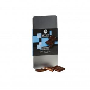 Pecarée ® Caramel de Sel Zartbitter, 6 Stück