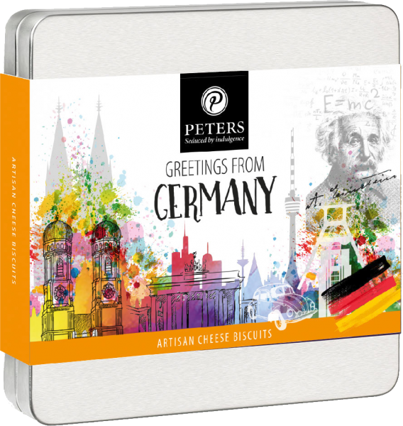 Käsegebäck-Mix- Greetings from Germany