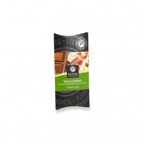 Stevia Schokolade Vollmilch Nuss