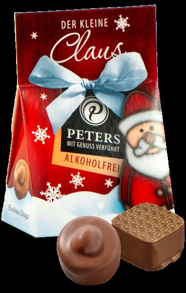 """Weihnachtspralinen """"Der kleine Claus"""" alkoholfrei 25g"""