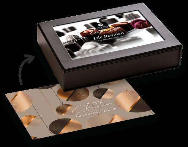 Die Royalen | Pralinen-Mischung alkoholfrei (Fotobox mit Magnetverschluss)